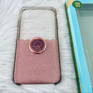 Kate Spade iPhone XS Max Case with Ring